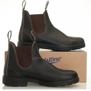 Blundstone BL 500 Stout Brown Men's Chelsea Boots